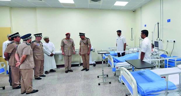 شرطة عمان السلطانية تحتفل بافتتاح مبنى إدارة التوقيف بمحافظة مسقط