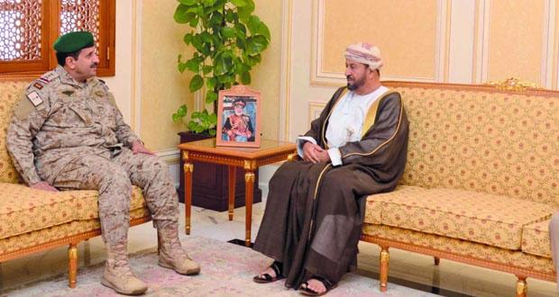 بحث مسيرة العمل العسكري المشترك بين دول المجلس