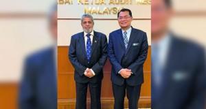 جهاز الرقابة يطلع على عمل الأكاديمية الماليزية الوطنية للتدقيق