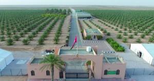 زيارة ميدانية لمزارع مشروع المليون نخلة بمزرعني رحب والنجد بظفار