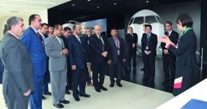 الوزير المسؤول عن شؤون الدفاع يزور شركة ميتسوبيشي لصناعة الطائرات ومقر جمعية الصداقة العمانية اليابانية