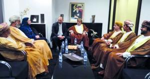 الصداقة العمانية المغربية تستعرض تطوير التعاون الثنائي