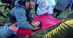 273 شهيدا فلسطينيا والاف الجرحى منذ بدء (مسيرات العودة)