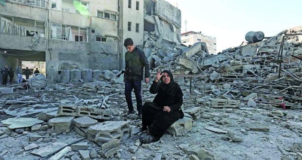 غزة تحت نيران الاحتلال .. وهدنة بوساطة مصرية