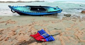 ليبيا: غرق قارب على متنه 44 مهاجرا قرب صبراتة