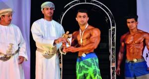 وزير الشؤون الرياضية يرعى ختام بطولة كمال الأجسام الأولى بالمصنعة