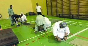 اكتمال وصول المنتخبات المشاركة في بطولة الأثقال