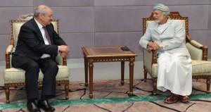 ابن علوي يلتقي وزير خارجية أوزبكستان