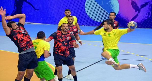 تأهل ناديي عمان ومسقط إلى المباراة النهائية لمسابقة درع الوزارة لكرة اليد