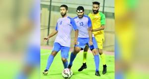 اليوم انطلاق منافسات دور الـ 16لبطولة ثمانيات كرة القدم للمؤسسات الحكومية والخاصة