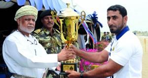 ختام بطولة البحرية السلطانية العمانية للإبحار الشراعي والتجديف