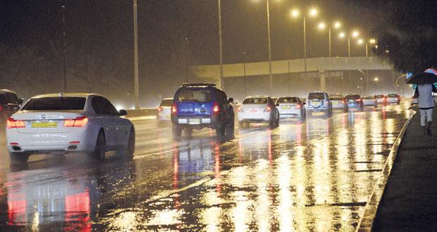 بدء تأثيرات المنخفض الجوي .. وغزارة الأمطار تصل إلى 75 مليمترا