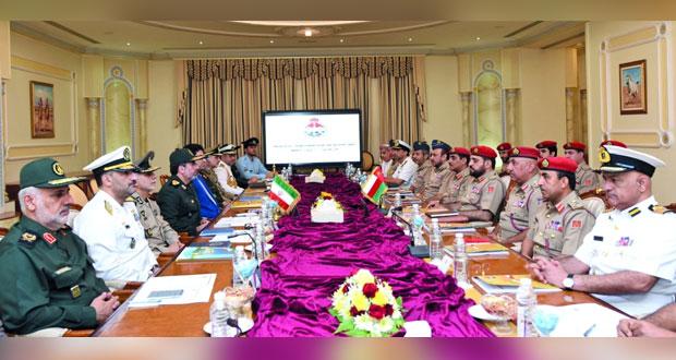 بدء أعمال اجتماع لجنة الصداقة العسكرية العمانية ـ الإيرانية المشتركة