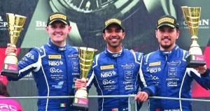 فريق عُمان لسباقات السيارات يحل ثالثًا في أولى الجولات والإطارات تحرم الفريق من الصدارة في بطولة بلانك بان الأوروبية للتحمل