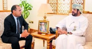 وزير الخدمة المدنية يستقبل مستشار المصالح العمومية في الإدارة العامة بالوكالة التونسية للتعاون الفني