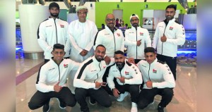 المنتخب الوطني لبناء الأجسام والفيزيك يشارك في بطولة غرب آسيا بالبحرين