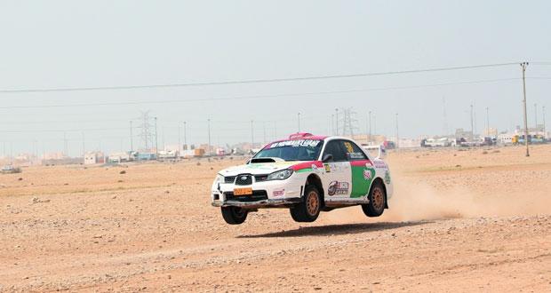 الجمعية العمانية للسيارات تدعم الثلاثي العوفي والعامري والرواحي برالي الأردن الدولي