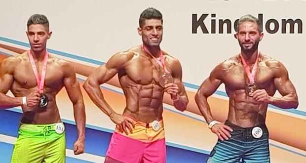 منتخبنا الوطني لبناء الأجـسام والفيـزيك يحـصد 6 ميداليات ملونة في بطولة غرب آسيا بالبحرين