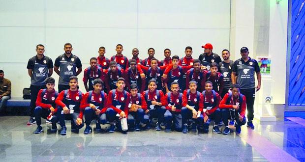 اليوم منتخبنا الوطني لناشئي القدم يواجه منتخب الطاجيكستاني وديا استعدادا للتصفيات الآسيوية
