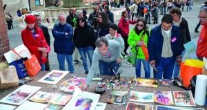 فهد المعمري وسالم السلامي يمثلان السلطنة في المؤتمر الدولي بـفبريانوا (الألوان المائية ) في إيطاليا