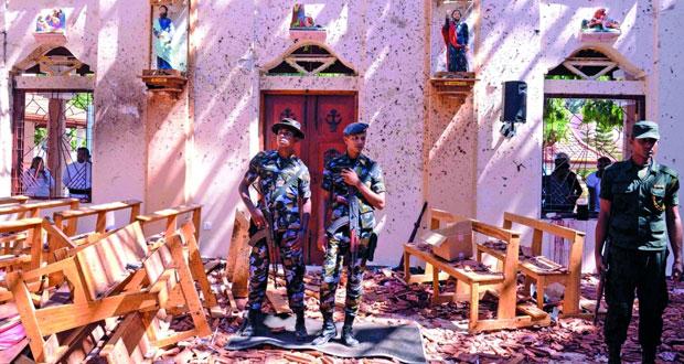 أكثر من 200 قتيل في تفجيرات إرهابية بسيريلانكا .. والسلطنة تدين