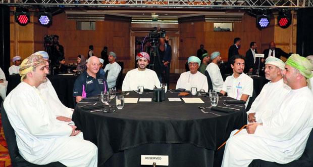 الاحتفال بتتويج الفيصل الزبير بطلاً لبطولة كأس بورشه جي تي 3 الشرق الأوسط للعام الثاني على التوالي