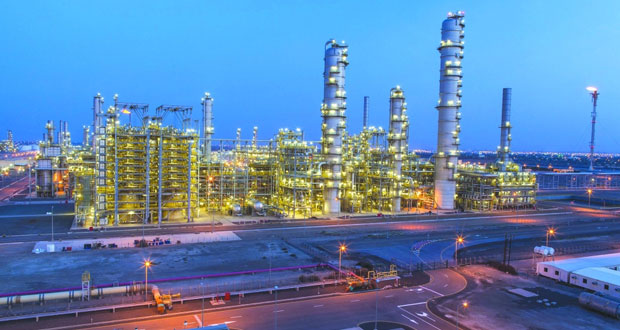 14% ارتفاعا في إجمالي منتجات المصافي والصناعات البترولية بالسلطنة في الربع الأول من العام الجاري