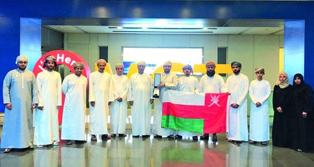 """""""تقنية المصنعة"""" تفوز بالمركزين الأول والثالث في مسابقة تحدي الروبوتات الثاني لدول مجلس التعاون بالكويت"""