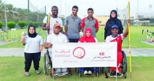 منتخبنا الوطني لذوي الإعاقة يشارك في ملتقى المغرب الدولي لألعاب القوى
