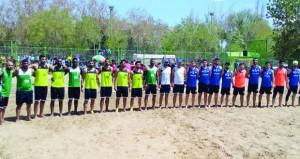 منتخبنا الوطني لليد الشاطئية يقع في المجموعة الثانية بالبطولة الآسيوية بالصين