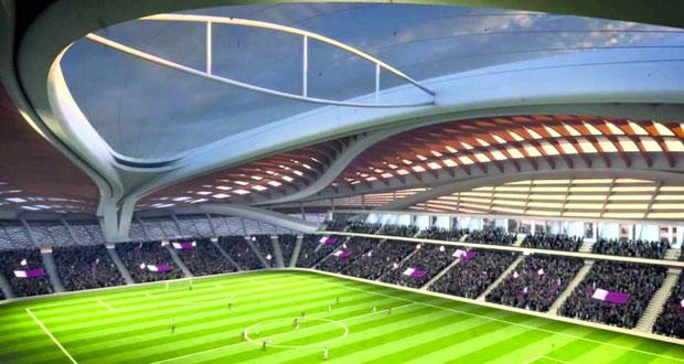 16 مايو تدشين رسمي لاستاد الوكرة أحد ملاعب مونديال 2022