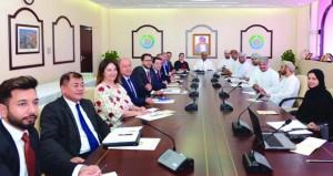 مجلس الأعمال العماني التركي يناقش العلاقات التجارية والاستثمارية بين البلدين