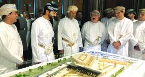 """تدشين مشروع سوق """"بازار""""بصحار بقيمة 13 مليون ريال عماني"""