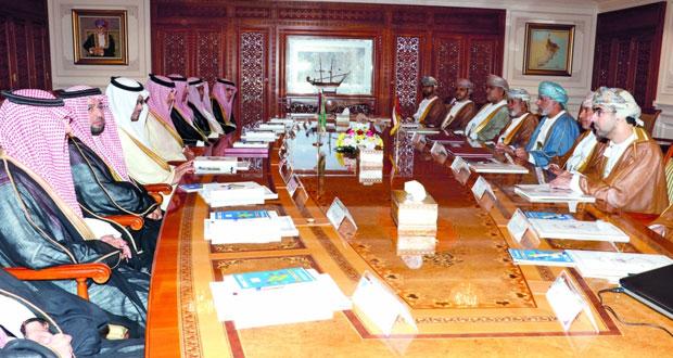 بحث التعاون في المجالات الرقابية بين السلطنة والسعودية