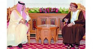 فهد بن محمود يستقبل رئيس ديوان المراقبة العامة السعودي