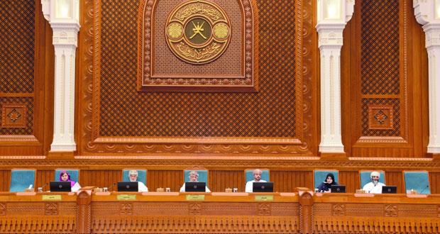 """مجلس الدولة يوافق على مشروع """"الأحكام الخاصة بمشروعات القوانين المقدمة من مجلس عمان"""""""
