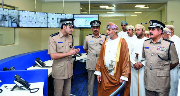 الاحتفال بافتتاح مبنى خدمات شرطة عمان السلطانية بالمصنعة