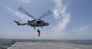عدد من أسلحة قوات السلطان المسلحة والجهات العسكرية والأمنية تنفذ تمرين الأمن البحري 2019م