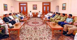 رئيس مجلس الشورى يستقبل وفد جامعة الدفاع الوطني الباكستاني