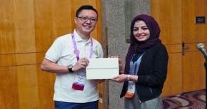 نور الساعدية تحصل على جائزة أفضل إبتكار لأداة جراحية مستقبلية لجراحة الفم والوجه والفكين