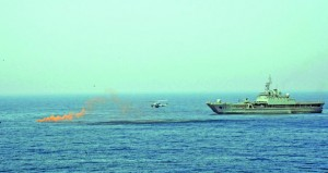 البحرية السلطانية العمانية والقوات البحرية الإيرانية تنفذان التمرين السنوي للبحث والإنقاذ