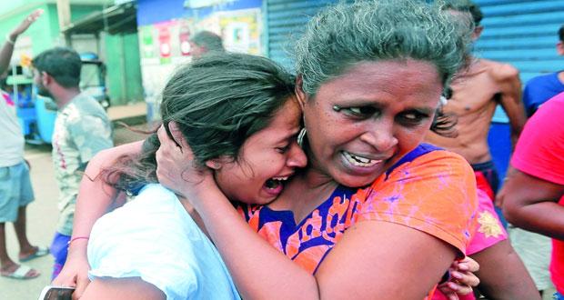 (تفجيرات سريلانكا) : انفجار جديد وارتفاع عدد الضحايا والعثور على 87 جهاز تفجير قنابل