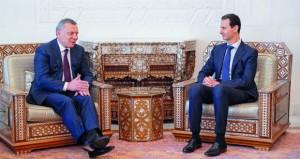 دمشق وروسيا تبحثان جهود ما بعد الحرب والتجارة