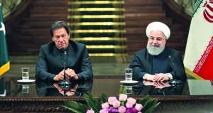 إيران وباكستان تتفقان على تأسيس قوة مشتركة لمكافحة الإرهاب