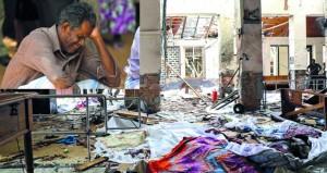 مئات القتلى والجرحى بسلسلة تفجيرات إرهابية استهدفت كنائس وفنادق بسريلانكا