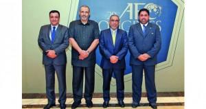 الوهيبي يفوز بعضوية المكتب التنفيذي بالاتحاد الآسيوي لغرب آسيا إعادة انتخاب الشيخ سلمان بن إبراهيم رئيسا للاتحاد الآسيوي لولاية جديدة