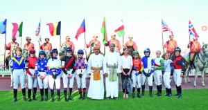ختام مميز لموسم سباقات نادي سباق الخيل السلطاني على مضمار الرحبة ببركاء