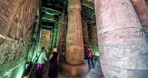مصر تطور منطقة آثار أبيدوس وخفض منسوب المياه الجوفية بمعبد ستي الأول