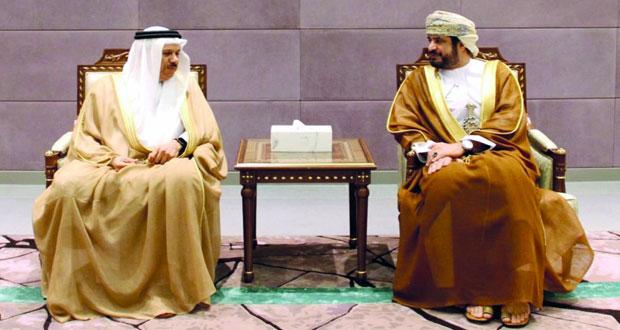 وزير الخدمة المدنية يستقبل الأمين العام لمجلس التعاون لدول الخليج