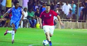 تأهل فريقي الجالية الأردنية والمصرية لنهائي بطولة الجاليات بظفار